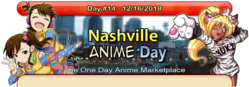 Nashville Anime Day 2018