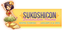 Sukoshicon: Destination Anime