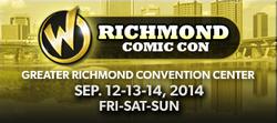 Wizard World Richmond Comic Con