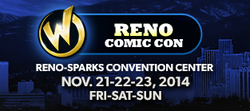 Wizard World Reno Comic Con