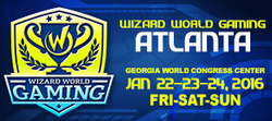 Wizard World Gaming Atlanta