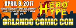 Hero Hype Orlando Comic Con