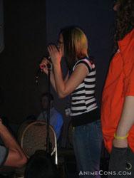Brina Palencia on stage