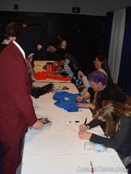 Staff autographs