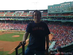 PatrickD at Fenway Park