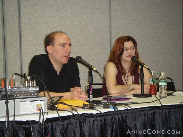 Bill Rogers and Michele Knotz