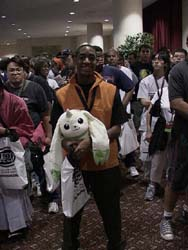 Henry and Terriermon from Digimon Tamers