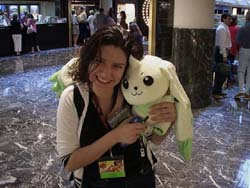 The infamous Mariela Ortiz with Terriermon