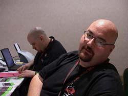 "MegaZone and Adam ""MiniZone"" Ferraro at Programming Operations"