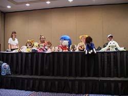 Anime Plushies panel