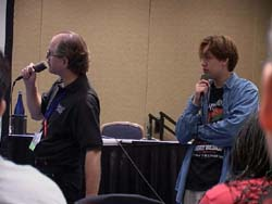 Central Park Media giving the same presentation from Otakon a month earlier...