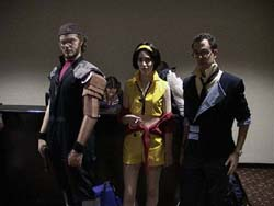 Jet, Faye, and Spike from Cowboy Bebop