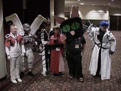 Chibi Trigun characters