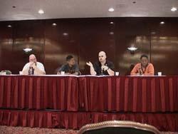 Anime Con Summit with Adam Ferraro (Anime Boston), G. Desmond Wooten (Genericon), MegaZone (AX, AXNY), Paulette Hodge (Shoujocon)