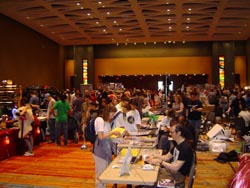 The dealers' room