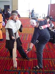 Tsukasa and friend
