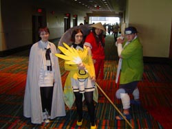 A collection of cosplayers