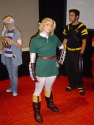 An excellent Link costume!