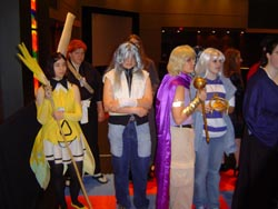 More cosplay chess pieces