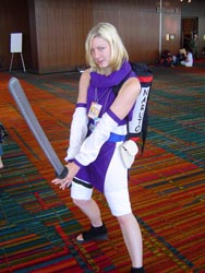 Something tells me she's from Naruto...
