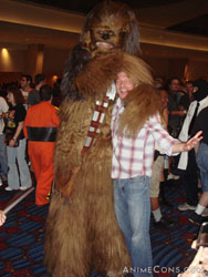 Let the wookie win.