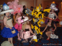 Bumblebee gets all the girls!