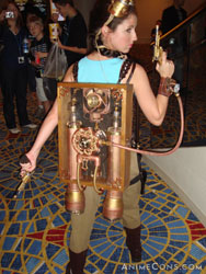 Lara Croft - steampunk style