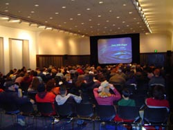 Thousands packed into Room 100 to watch anime on New Years Eve