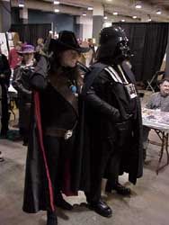 Mr. D and Vader form an alliance