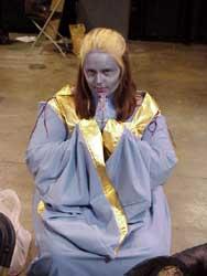 A Delvian priestess