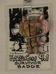 Unofficial Katsucon 9.1 badge