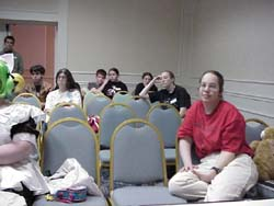 The other half of the costume panel audience
