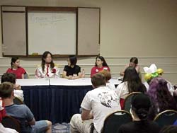"""The right side of the """"Gender Panel"""""""