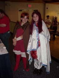 Shiris and Little Neese from Lodoss War