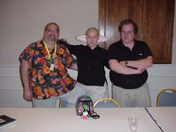 Tristan MacAvery, EVIL Mikka-chan, and Neil Nadelman