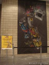 A Voltron mural