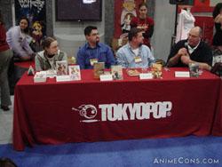 Tokyopop's manga artists