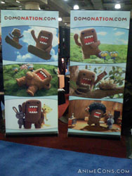 The Domokun booth