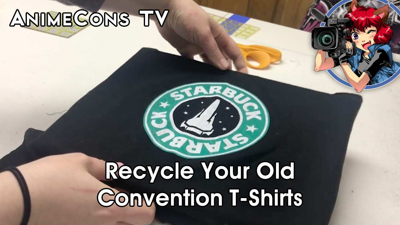 AnimeCons TV - Recycle Your Old Convention T-Shirts