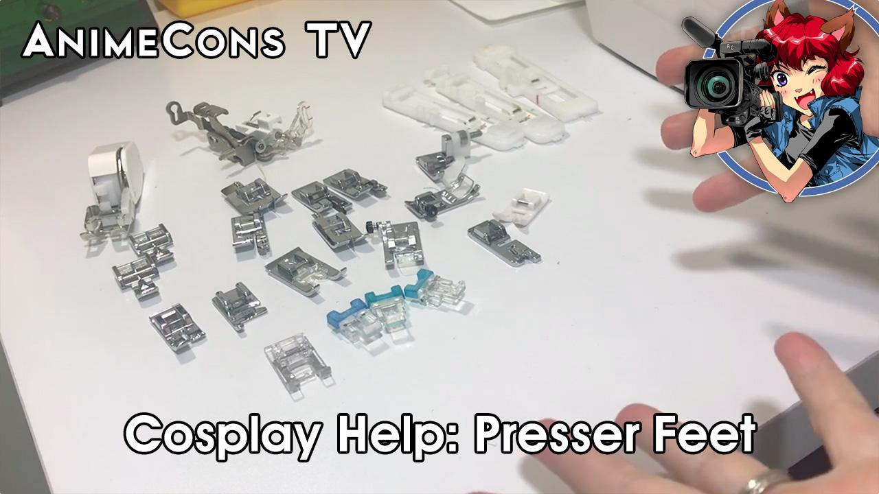 AnimeCons TV - Cosplay Help: Presser Feet