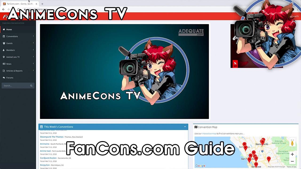 AnimeCons TV - FanCons.com Guide