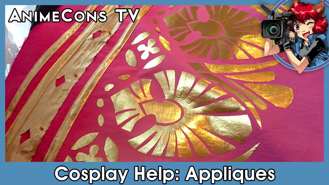 AnimeCons TV - Cosplay Help: Appliques