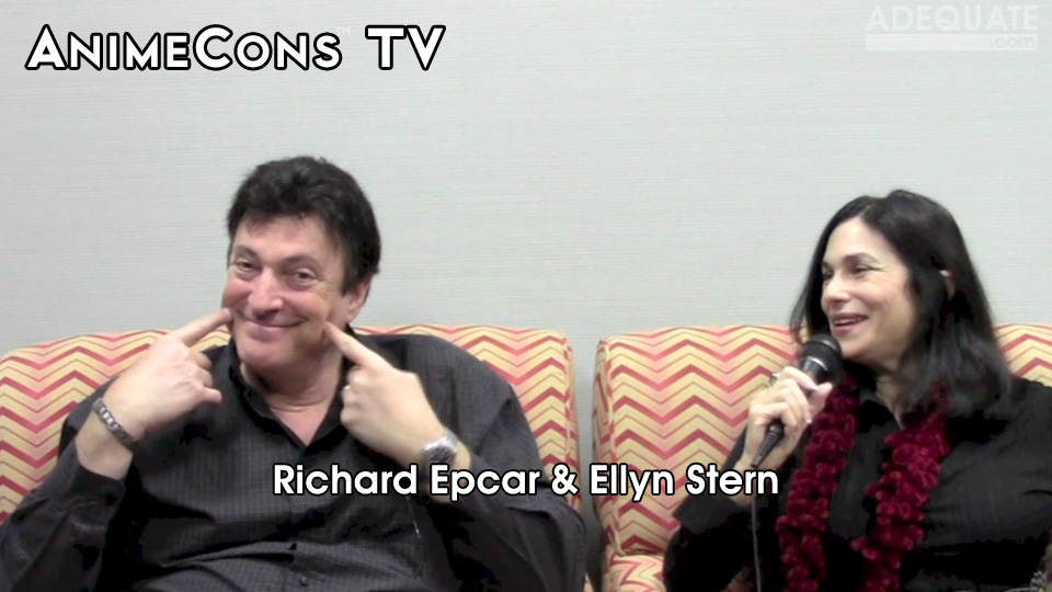 AnimeCons TV - Richard Epcar and Ellyn Stern Interview