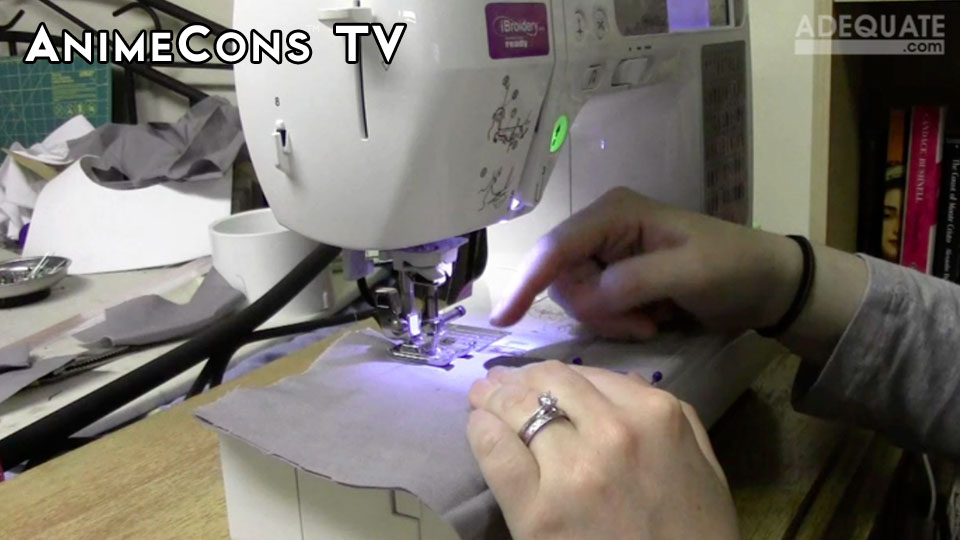 AnimeCons TV - Cosplay Help: Sewing Techniques