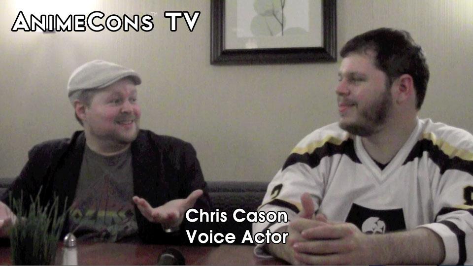 AnimeCons TV - Chris Cason Interview