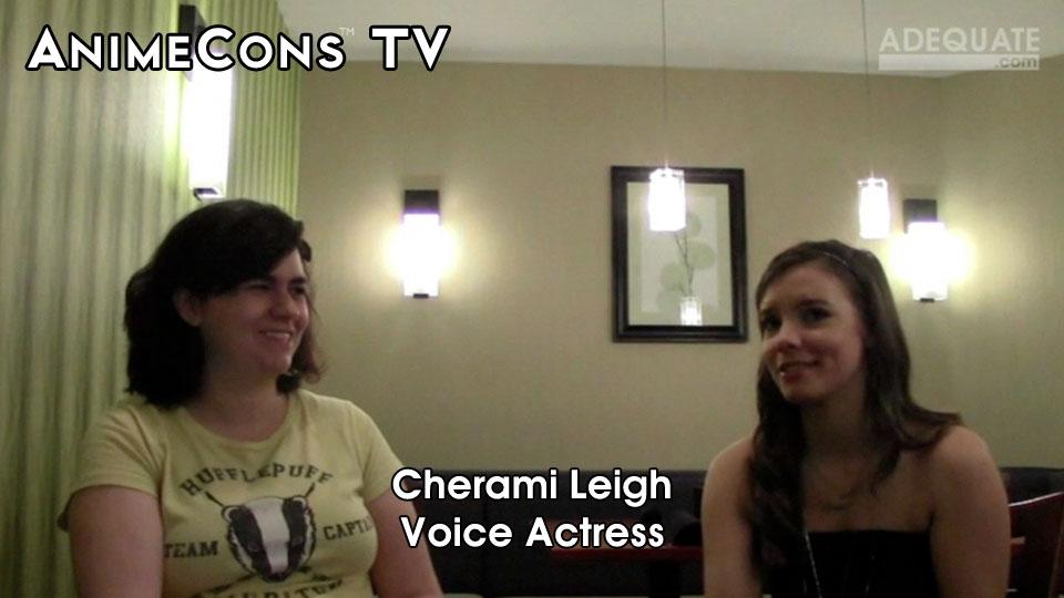 AnimeCons TV - Cherami Leigh Interview