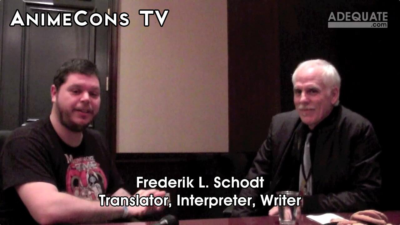 AnimeCons TV - Frederik L. Schodt Interview
