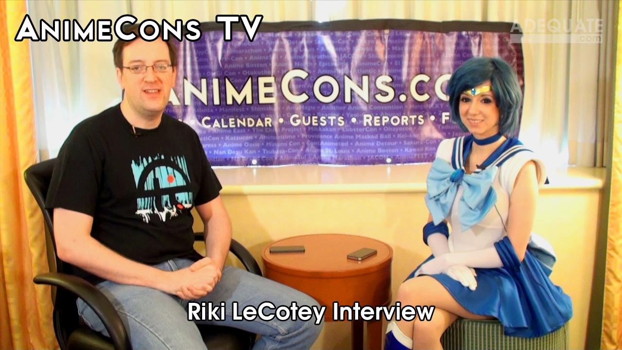 AnimeCons TV - Riki LeCotey Interview