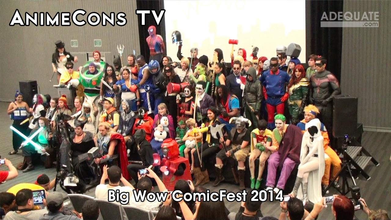 AnimeCons TV - Big Wow ComicFest 2014 Report