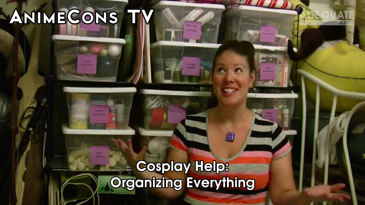 AnimeCons TV - Cosplay Help: Organizing Everything